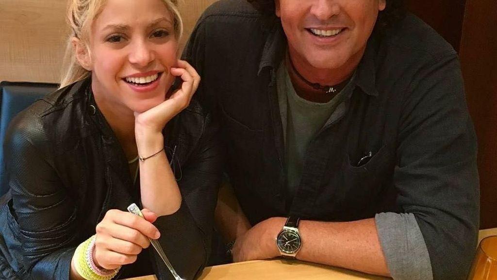 Intip Momen Makan Si Sexy Shakira, Istri Gerard Pique