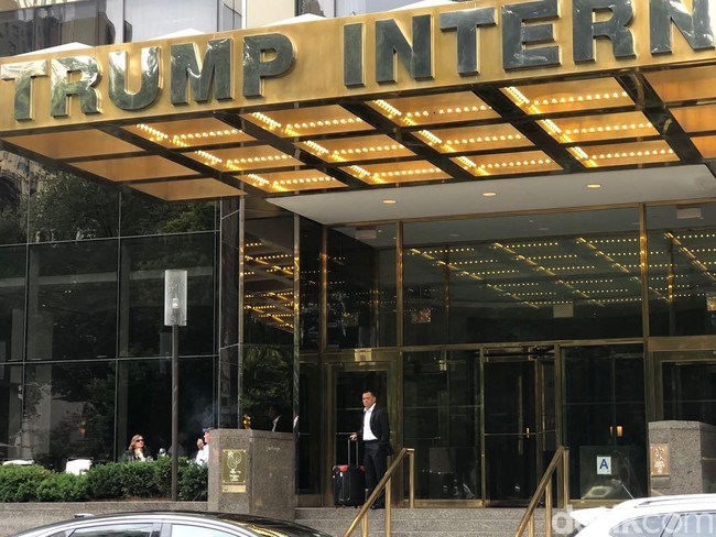 Gatot Nurmantyo Dulu Ditolak ke AS, Kini Mampir ke Trump Tower