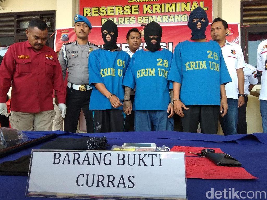 3  Perampok Emas di Semarang Dibekuk, 3 Orang Masih Buron