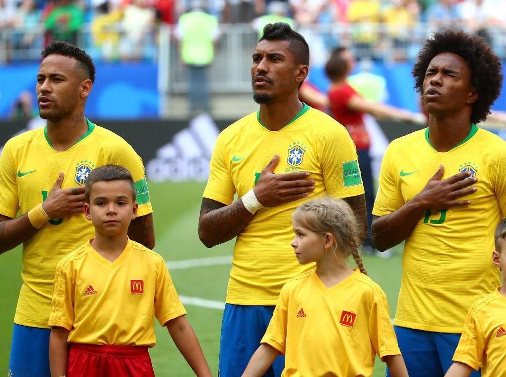 Brasil Sudah Umumkan Starting XI untuk Lawan Belgia, Ini Daftarnya