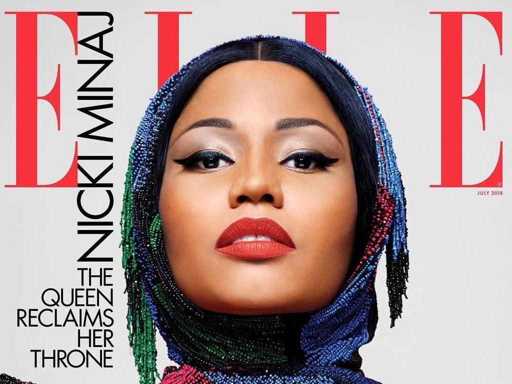 Nicki Minaj Pakai Penutup Kepala Mirip Hijab