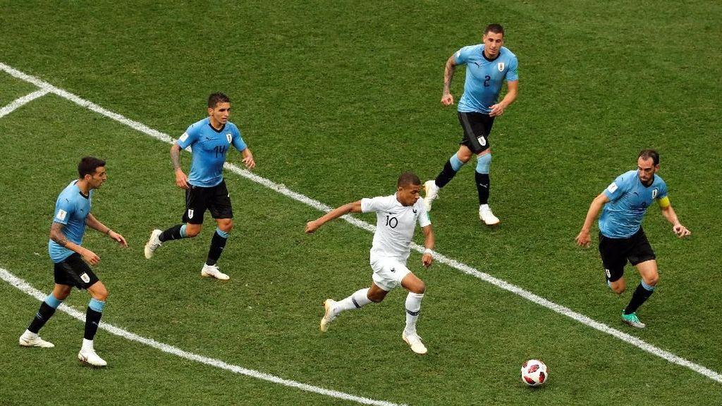 Video Highlights: Uruguay Vs Prancis 0-2