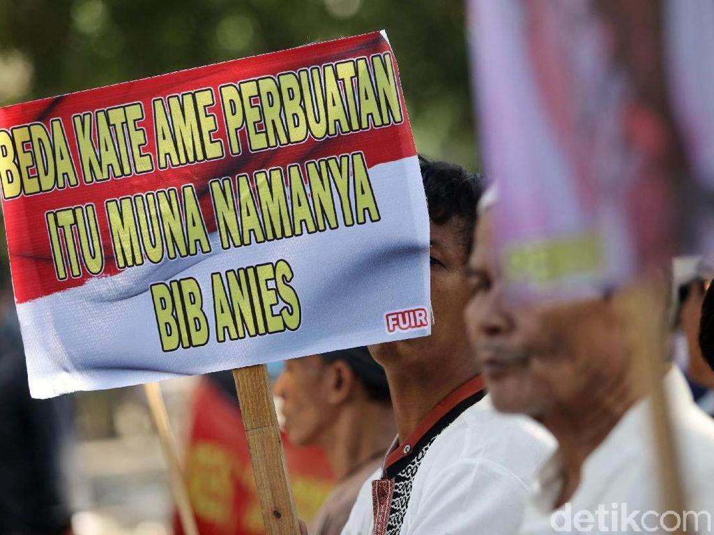 Protes Kebijakan Anies, FUIR Demo di Balai Kota