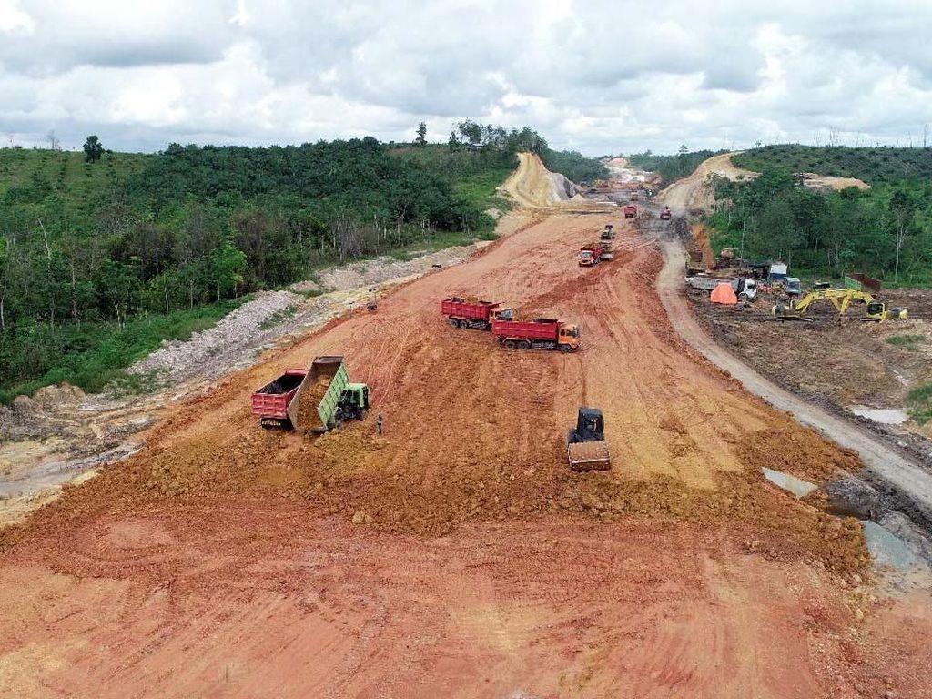 Ditarget Operasi 2019, Begini Penampakan Tol Pertama Kalimantan