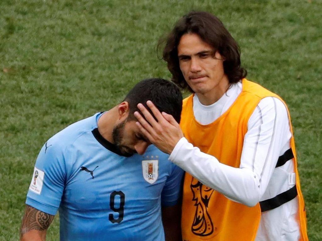 Video: Gol Varane dan Griezmann, Au Revoir Uruguay!