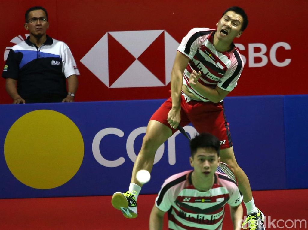 Kandaskan Hendra/Ahsan, Kevin/Marcus Jejak Final Denmark Terbuka