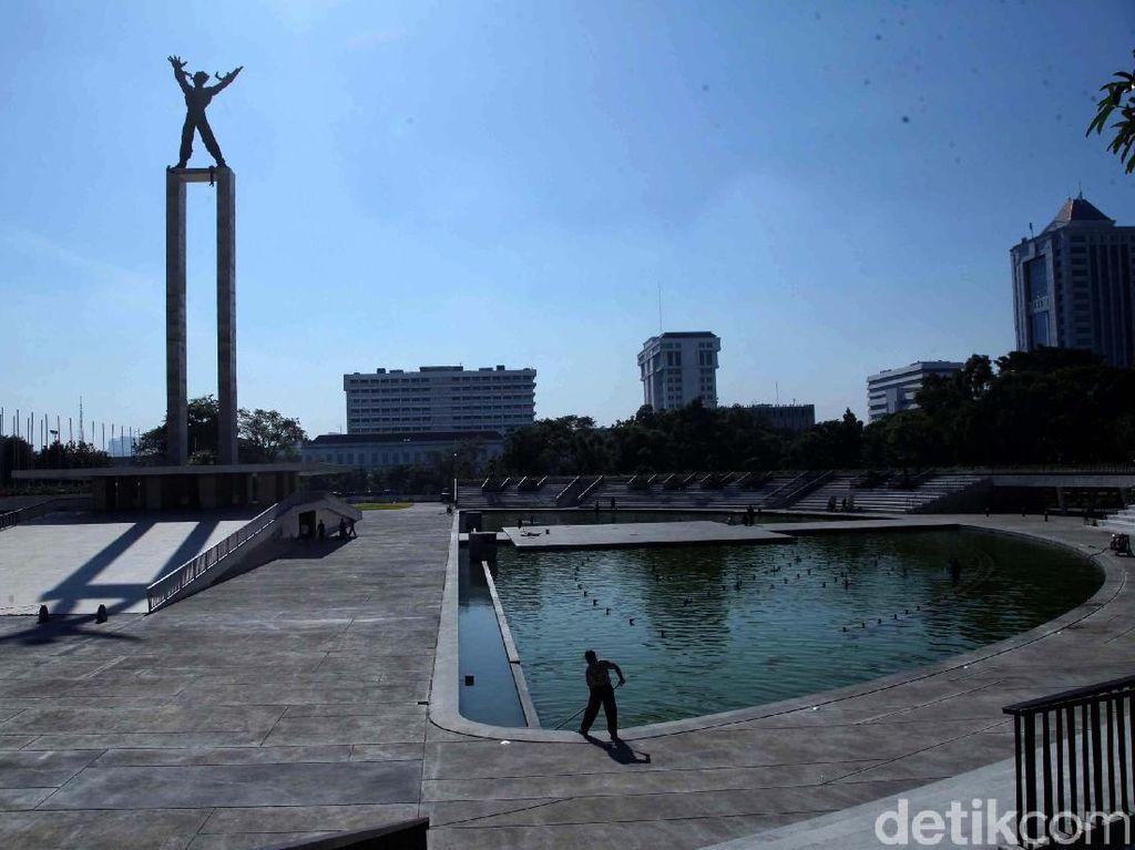Anies Resmikan Taman Lapangan Banteng 25 Juli