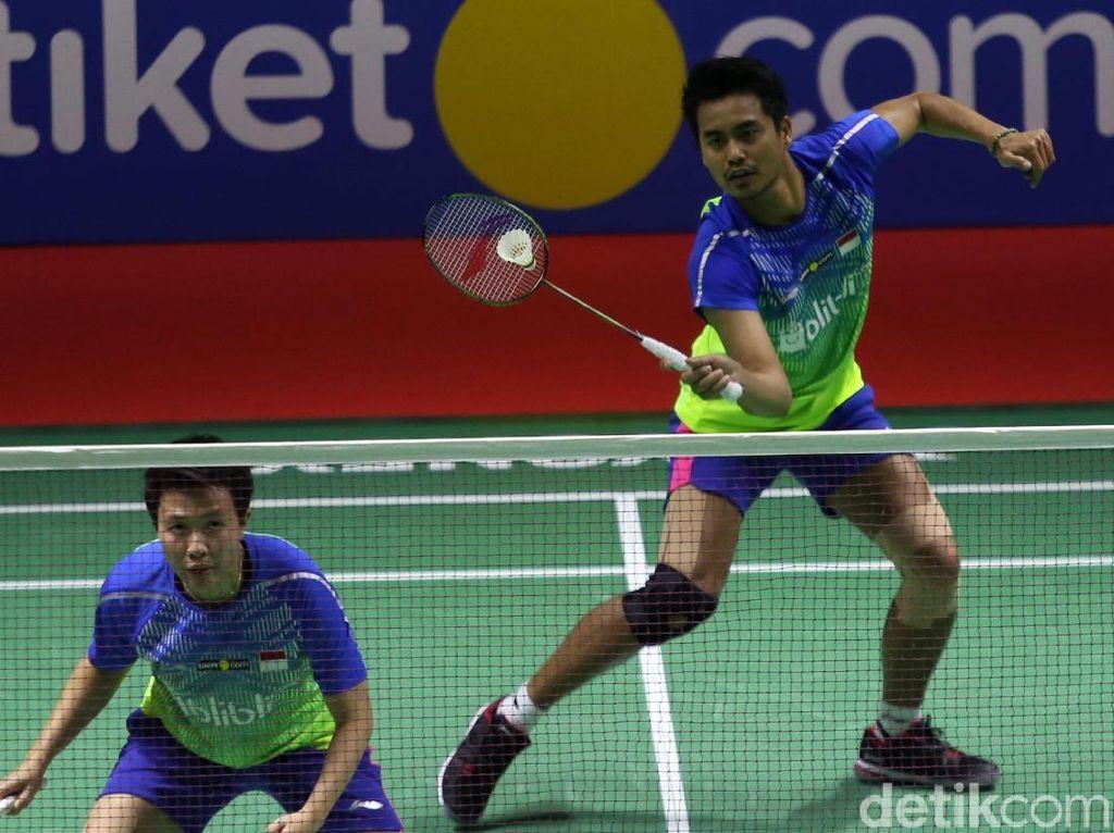 Tontowi/Liliyana Amankan Tiket Semifinal Indonesia Open 2018
