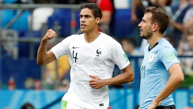 Raphael Varane paling konsisten di Real Madrid dan timnas Prancis. (