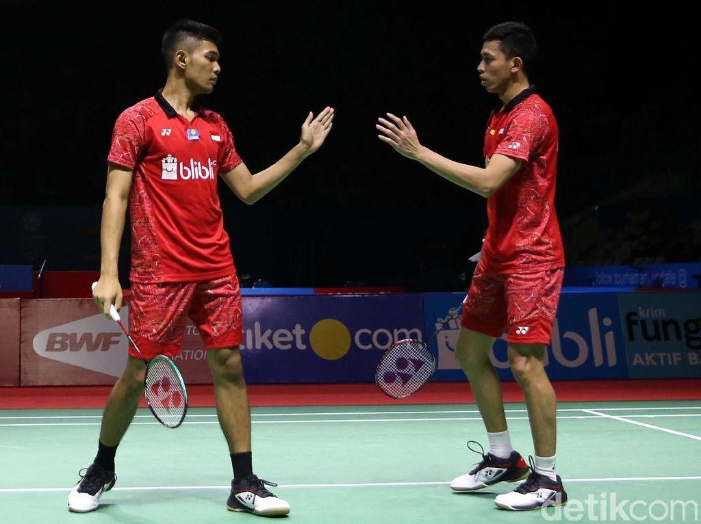 Fajar/Rian dan Rizki/Della Jejak Perempatfinal Hong Kong Terbuka