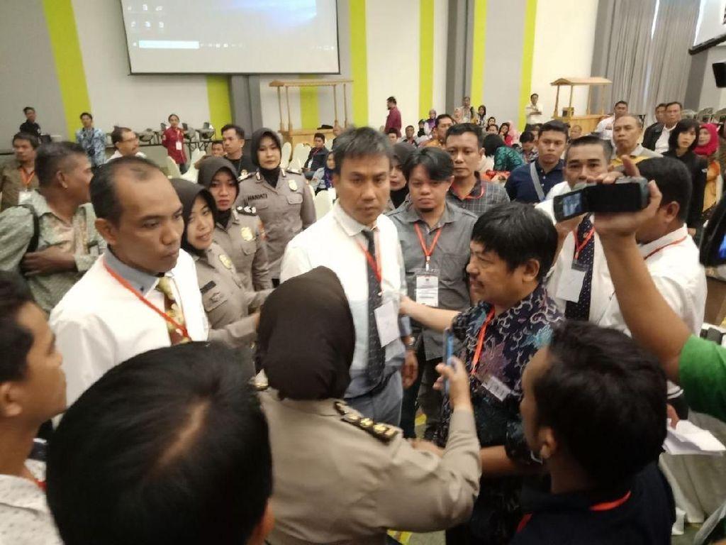 Rekap Suara Pilwalkot Makassar Panas, Pejabat KPUD Pukul Panwaslu