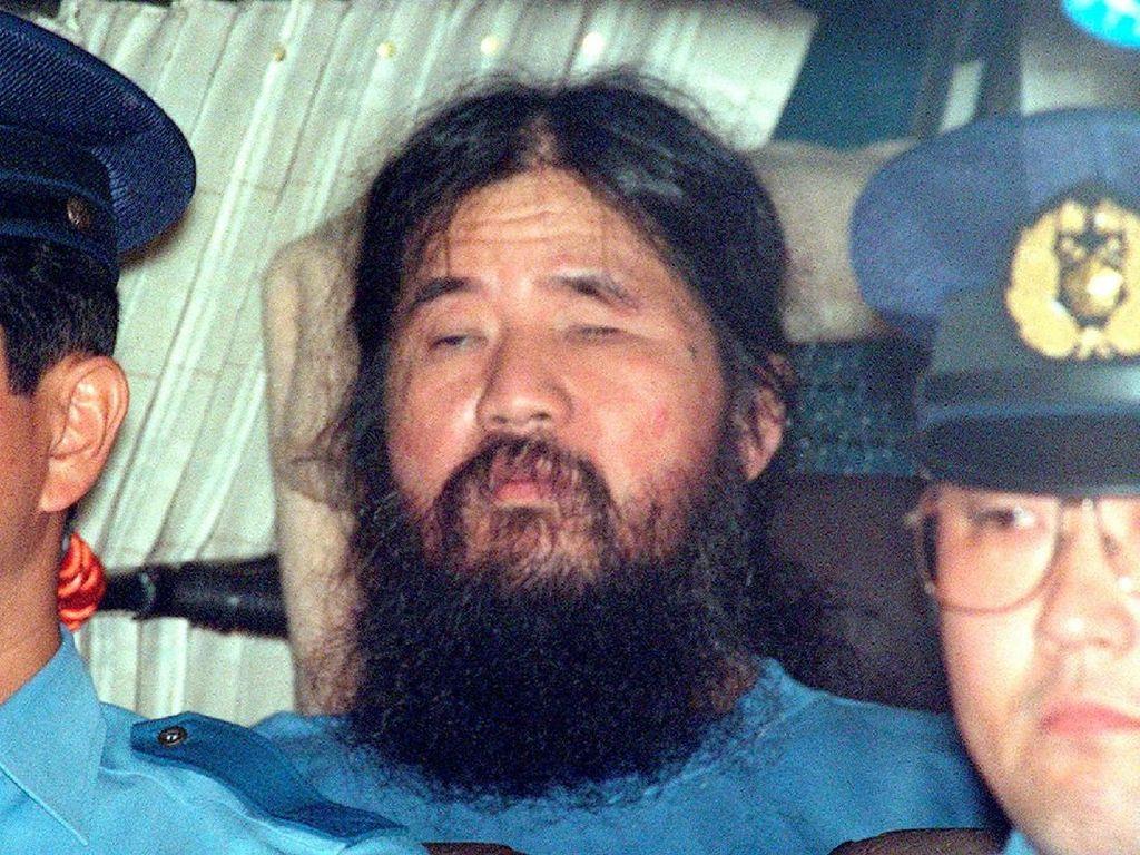 Jepang Eksekusi Mati Pelaku Penyerangan Gas Sarin