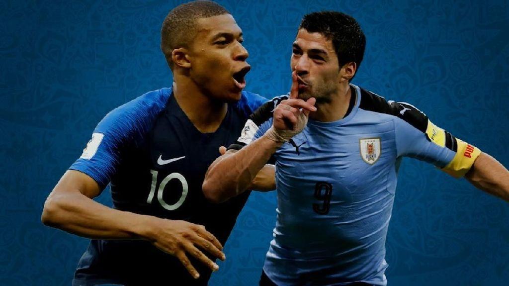 Rekaman Gol-gol Suarez Vs Mbappe, Jago Siapa?