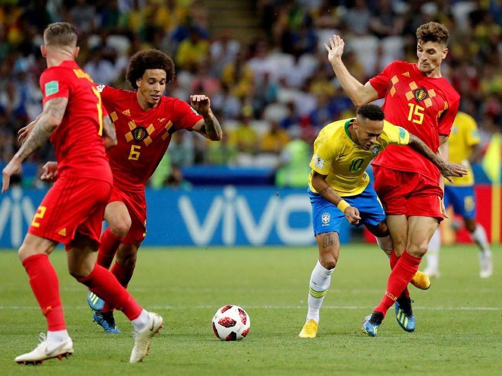 Karena Belgia Takkan Pasrah Mengakui Kualitas Brasil