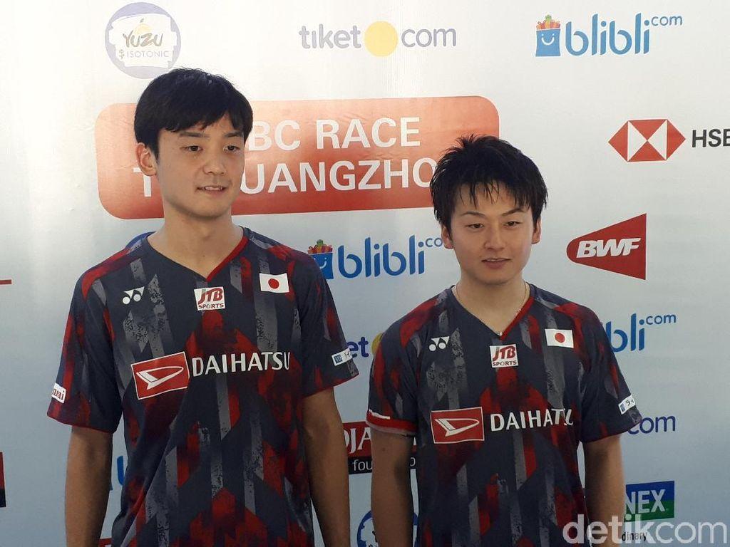 Lolos ke Final, Ganda Jepang Ini Berharap Lawan Kevin/Marcus