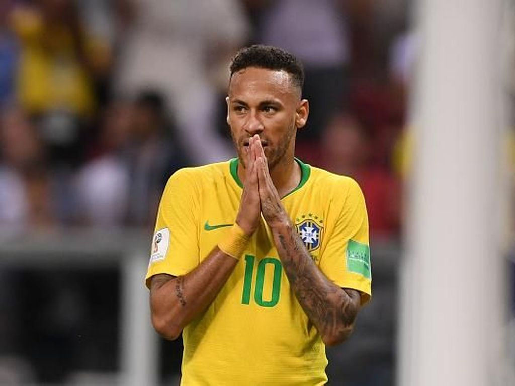 Neymar Gagal Bawa Brasil Melangkah Lebih Jauh