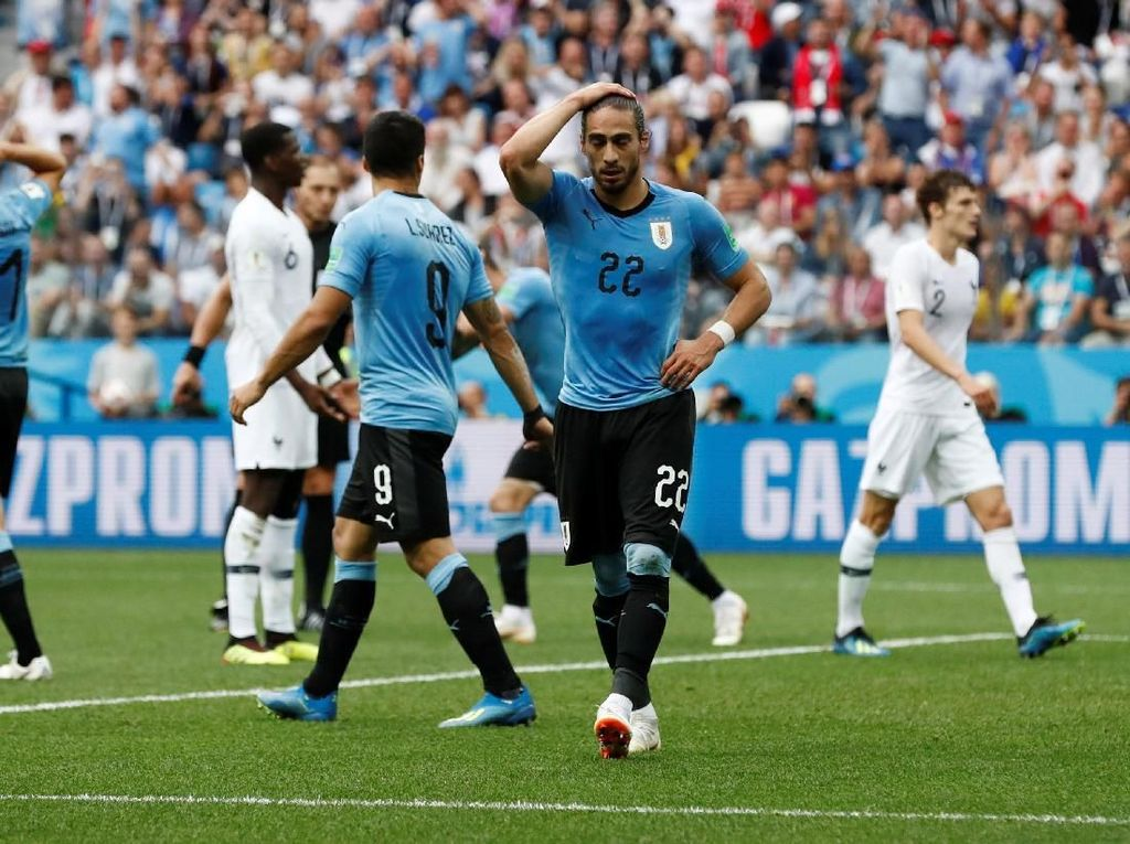 Sampai Habis Akal Uruguay untuk Eksploitasi Kelemahan Prancis