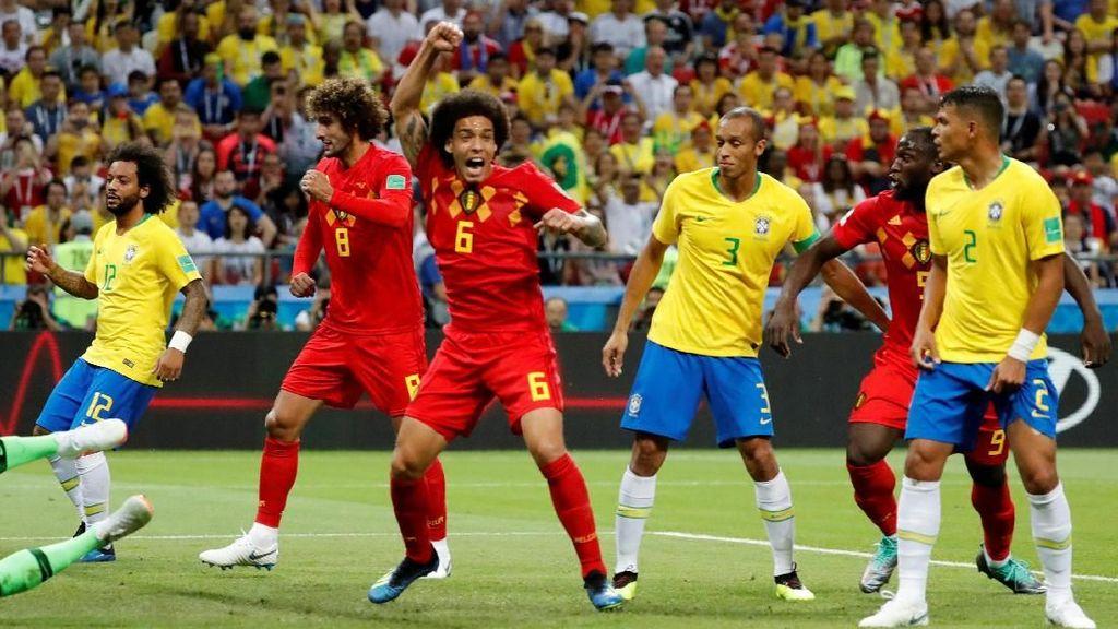 Video: Renato Augusto Gol! Brasil 1-2 Belgia
