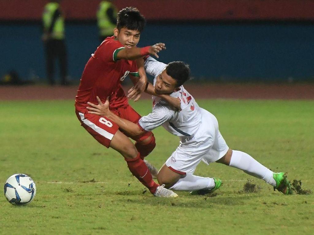 Piala AFF U-19: Menang Tipis 1-0 atas Vietnam, Indonesia Puncaki Grup A