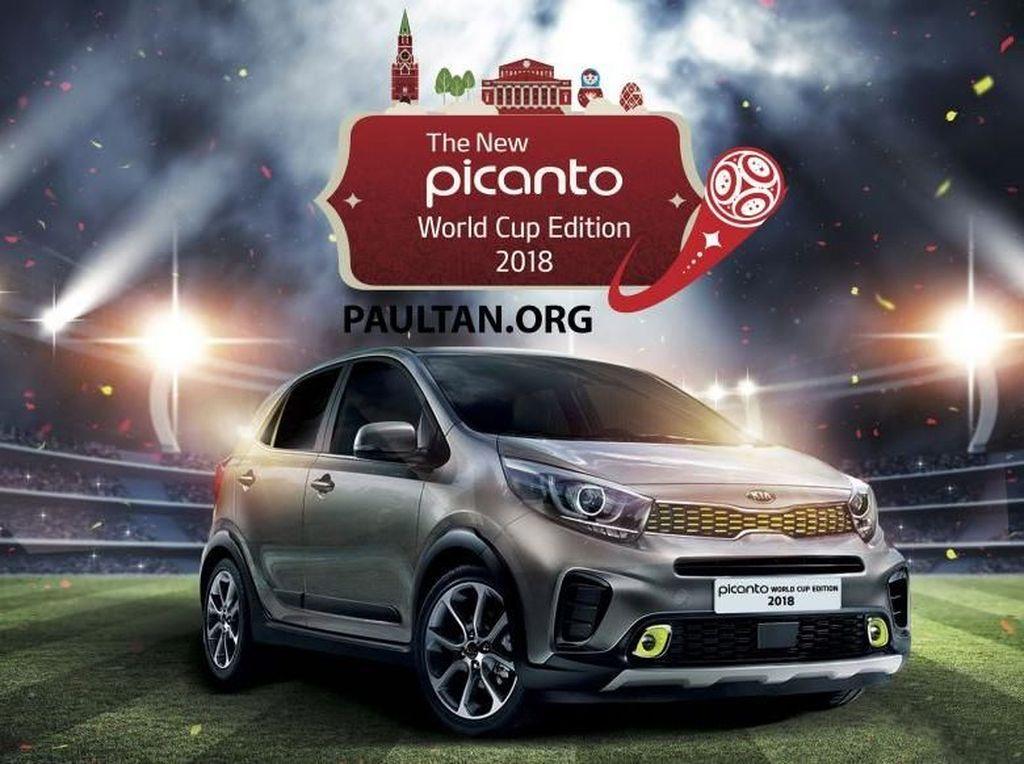 Semarak Piala Dunia 2018 di Kia Picanto