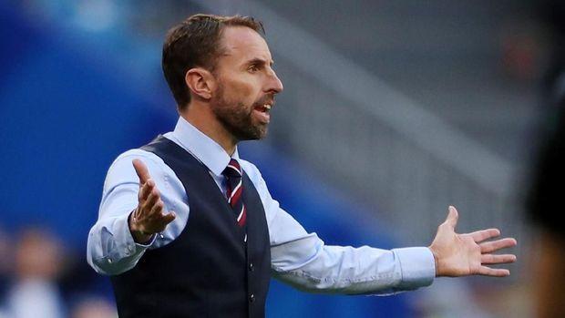 Gareth Southgate adalah pelatih ketiga sepanjang sejarah yang bisa membawa The Three Lions ke semifinal Piala Dunia 2018.