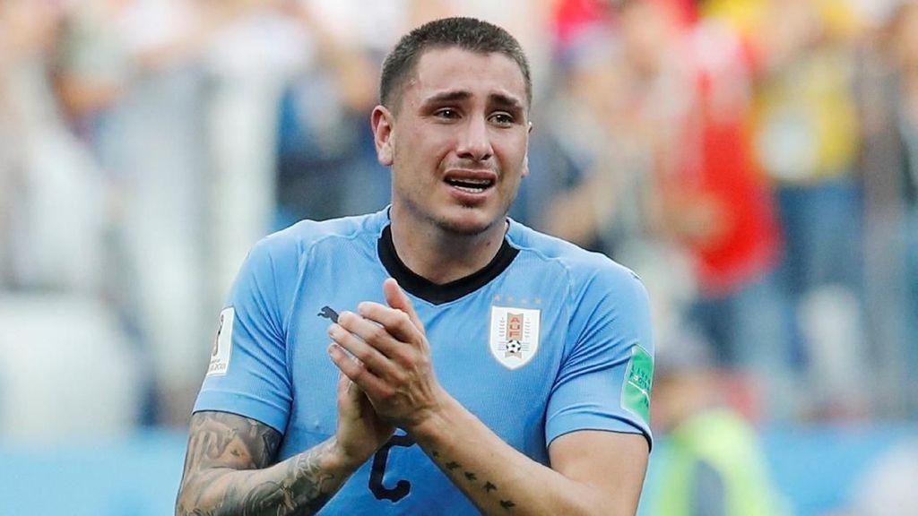 Video: Tangis Gimenez Jelang Kekalahan Uruguay