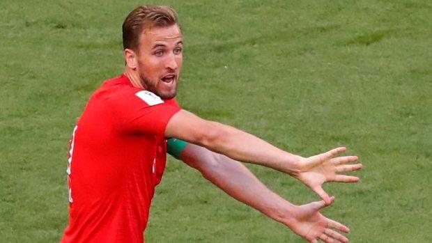Pemain timnas Inggris Harry Kane siap menambah koleksi golnya saat melawan Kroasia.