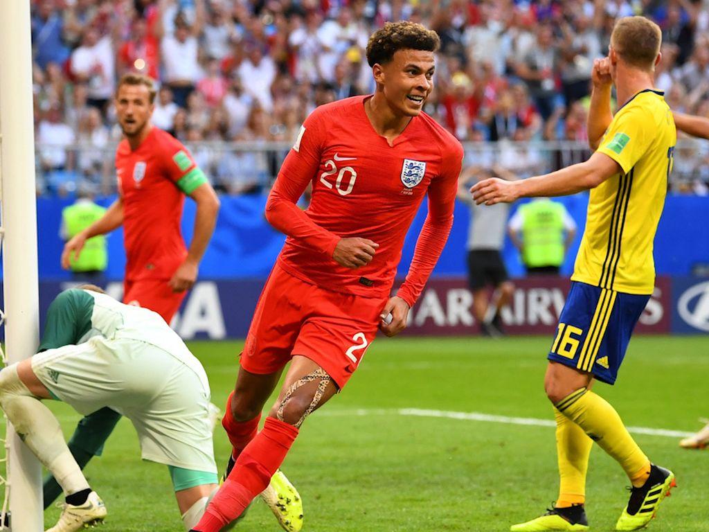 Video: Dele Alli! Inggris Menjauh 2-0 Atas Swedia