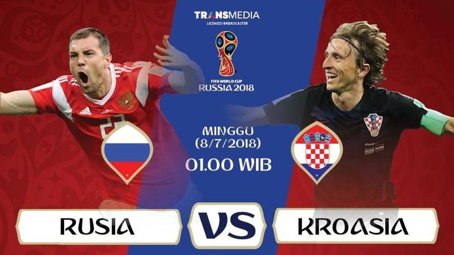 live report piala dunia 2018 rusia vs kroasia
