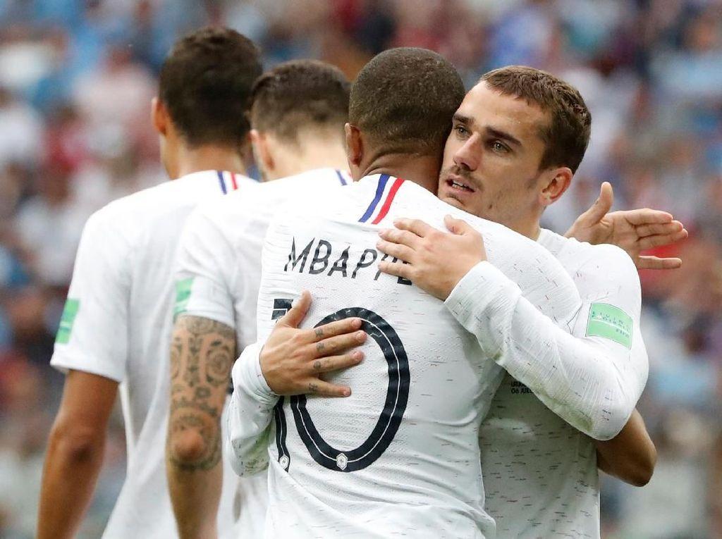 Ini Alasan Griezmann Tak Rayakan Gol ke Gawang Uruguay