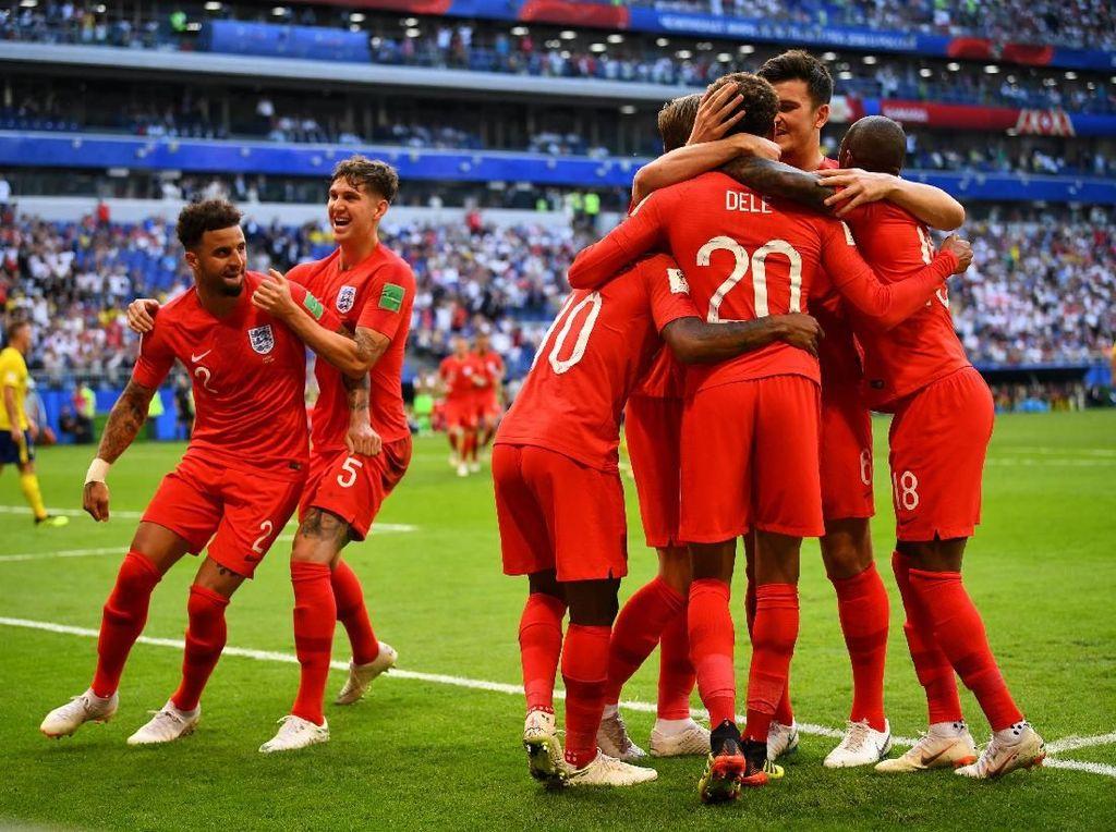Inggris ke Semifinal Usai Tekuk Swedia 2-0