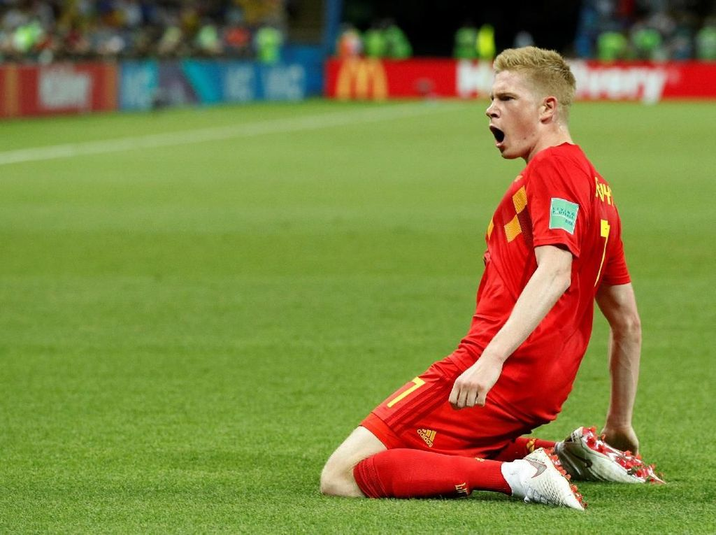 Video: Kevin De Bruyne Sukses Jadi False Nine!