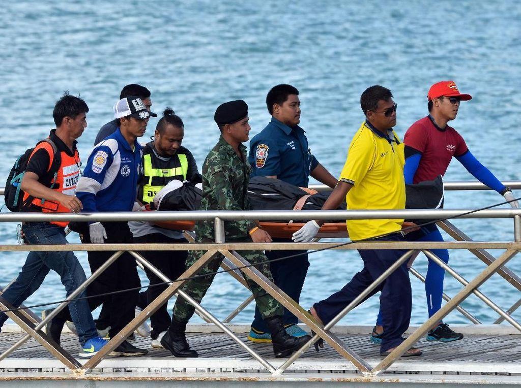 Korban Tewas Kapal Tenggelam di Phuket Bertambah Jadi 44 Orang