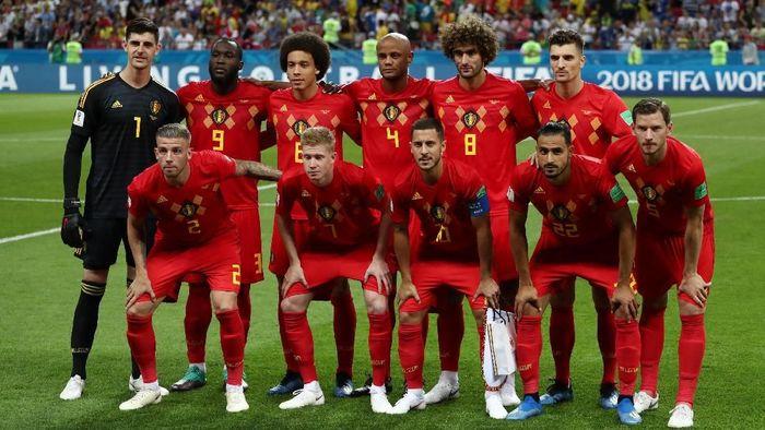 Timnas Belgia di Piala Dunia 2018 (Foto: Sergio Perez/Reuters)