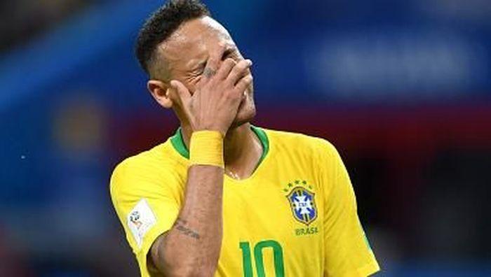 Brasil terhenti di perempatfinal Piala Dunia 2018 usai kalah dari Belgia. (Foto: Dok)