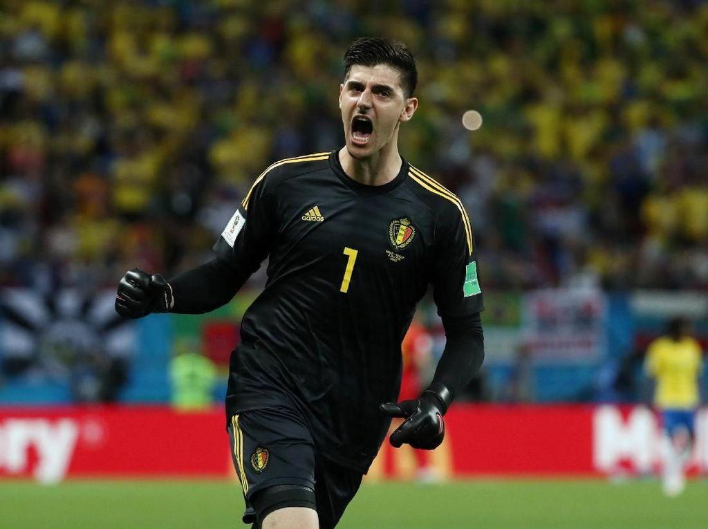 Video: Aksi Kiper Terbaik Piala Dunia 2018, Thibaut Courtois