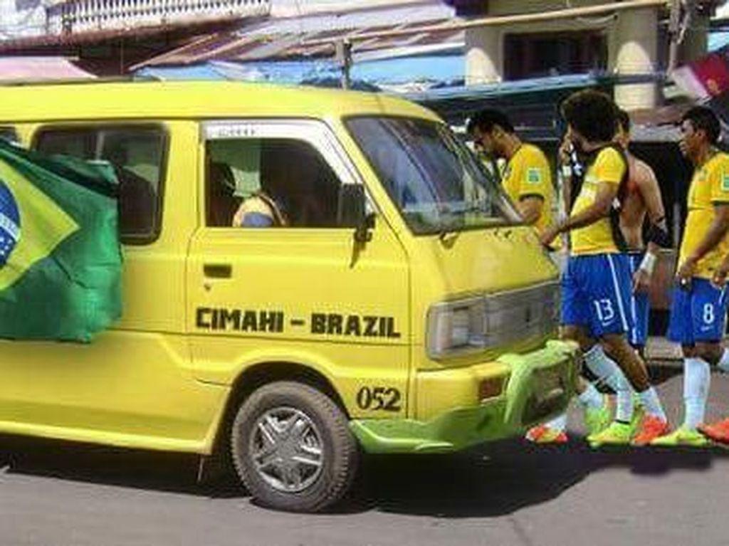 Terdepak di Piala Dunia 2018, Brasil Jadi Bahan Olok-olok