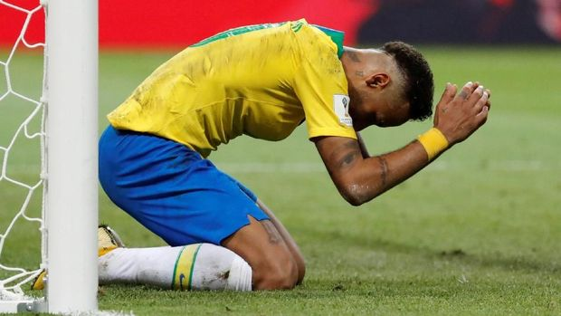 Neymar dan kawan-kawan gagal melaju ke babak semifinal Piala Dunia 2018.