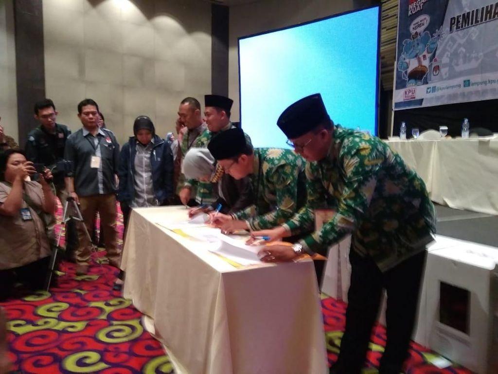 Raih 37,78% Suara, Arinal-Nunik Menangi Pilgub Lampung
