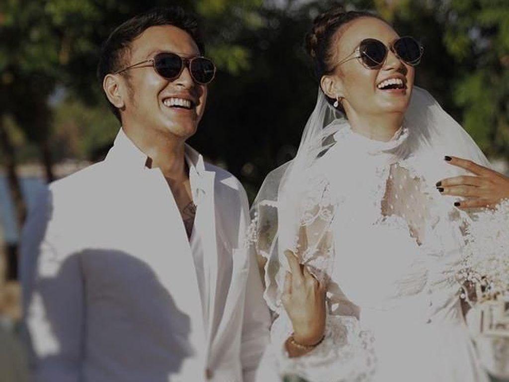 Nadine Chandrawinata Cerita Pengalaman Nikah di Bhutan dengan Dimas