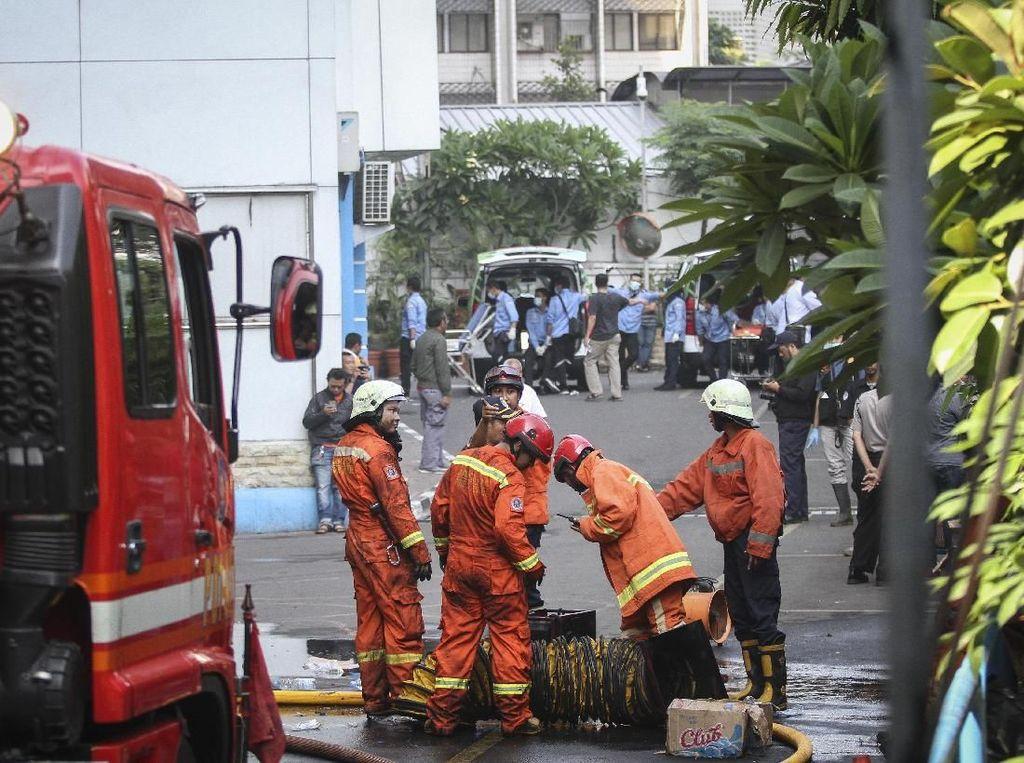 Kemenhub Tunggu Hasil Penyelidikan Polisi Terkait Kebakaran