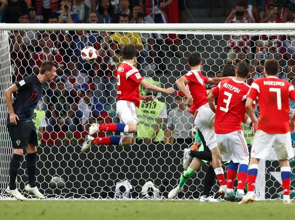 Nyaris Separuh Gol Piala Dunia 2018 Lahir dari Bola-bola Mati