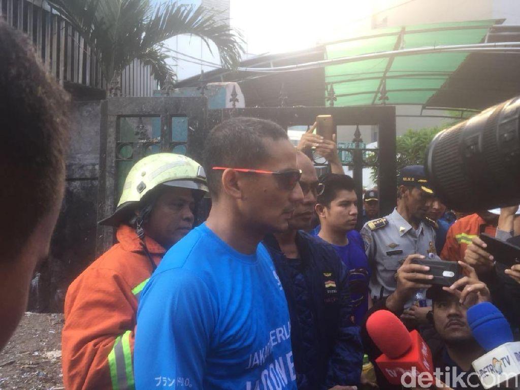 Kemenhub Terbakar, Sandi Soroti Akses Damkar di Gedung Perkantoran