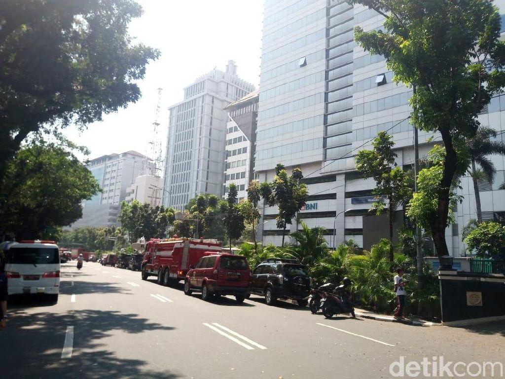 Sekjen Kemenhub Cek Alasan Pegawai di Kantor Saat Kebakaran