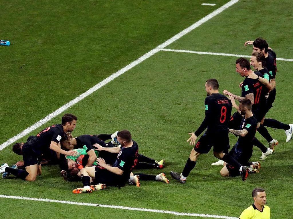 Jumpa Inggris di Semifinal, Kroasia: Tak Ada Tim Favorit