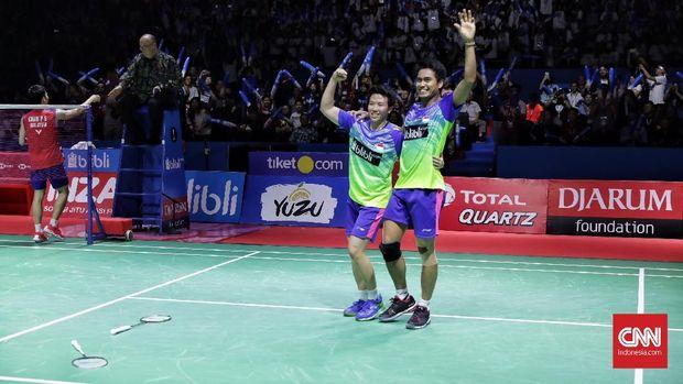 Tontowi Ahmad/Liliyana Natsir memenangi Indonesia Open 2018 dengan mengalahkan ganda Malaysia.