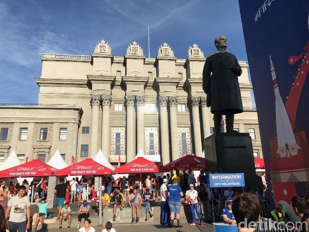 Inggris Masuk Semifinal, Fans Bisa Liburan Dulu di Kota Samara