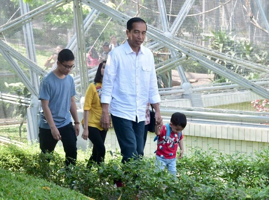 Yuk, Jalan Kaki! Jokowi Bilang Lebih Sehat dan Asyik
