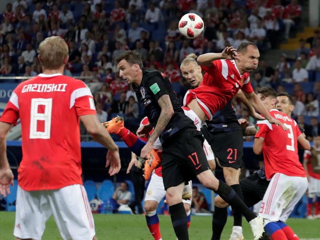 Video Highlights Babak Tambahan Rusia Vs Kroasia