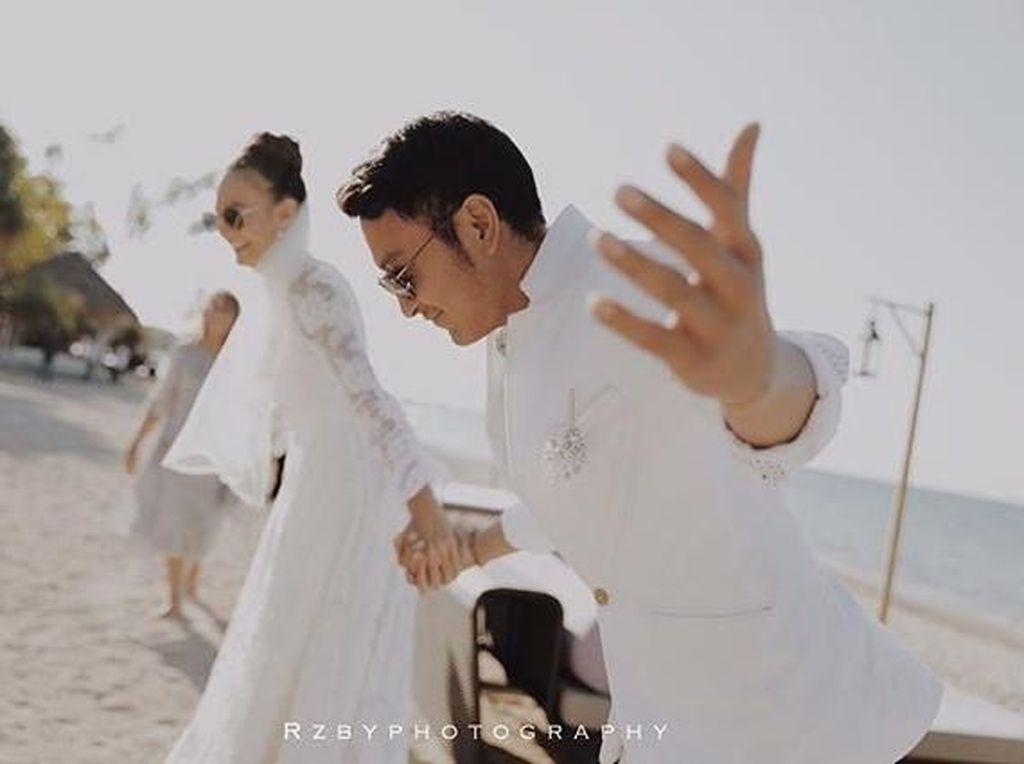 Dimas-Nadine Disebut Sudah Nikah di Bhutan, Lombok-Jakarta Cuma Pesta